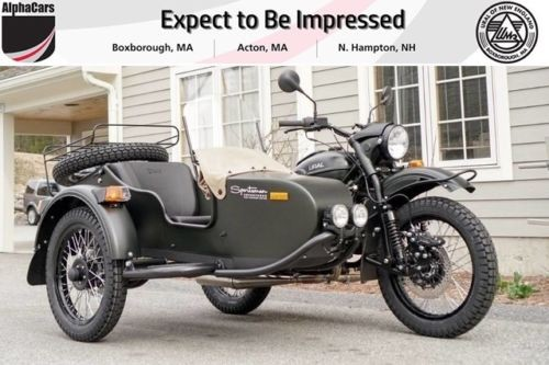 2018 Ural Gear Up Sportsman Forest Fog photo