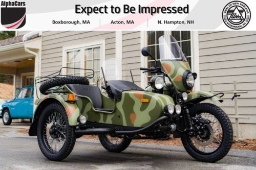 2018 Ural Gear Up 2WD Woodland Camouflage Custom Woodland Camoflauge photo