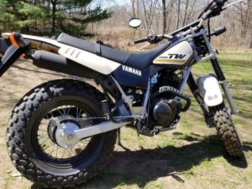 2018 Yamaha TW200 Black/Tan for sale
