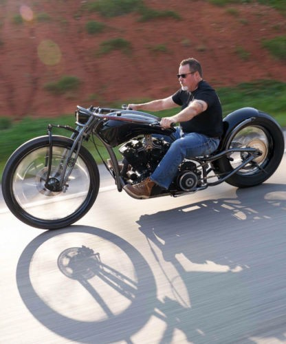 2019 Custom Built Motorcycles Bobber Black photo
