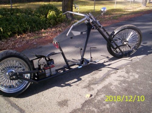 2019 Custom Built Motorcycles Chopper Flat black for sale craigslist