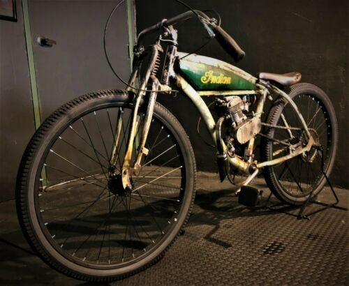 1912 Indian BOARD TRACK RACER TRIBUTE GREEN/IVORY photo