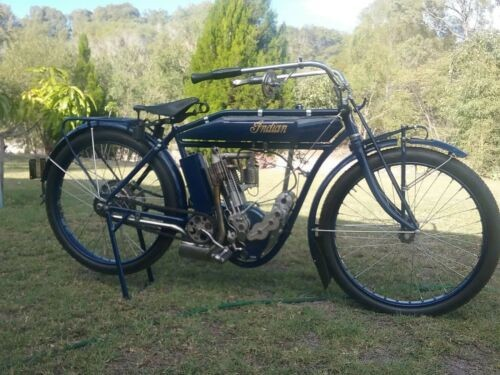 1912 Indian Hedstrom Blue photo