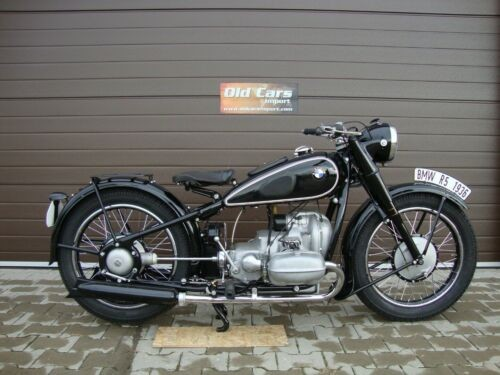 1936 BMW R-Series Black photo