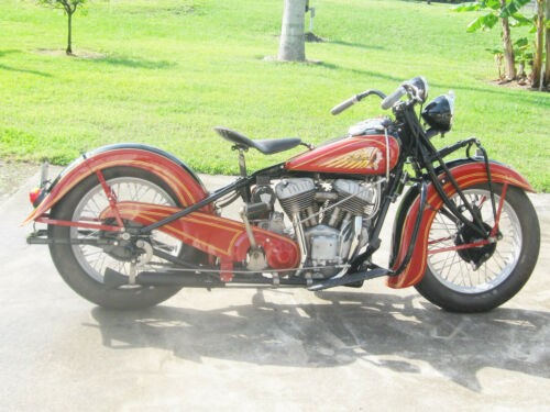 1938 Indian Chief Red and Black for sale