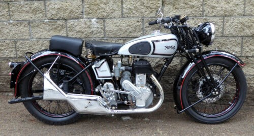 1939 Norton 16H Silver photo