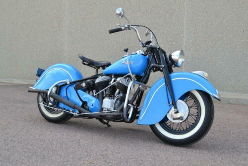 1946 Indian Chief Blue photo