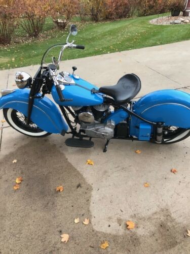 1946 Indian Chief Checkered Flag Blue for sale craigslist