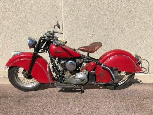 1947 Indian Chief Red photo