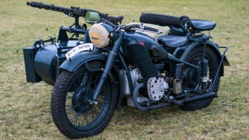 1949 Ural M-72 Blue photo