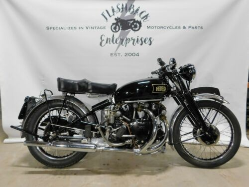 1949 Vincent Black Shadow  photo