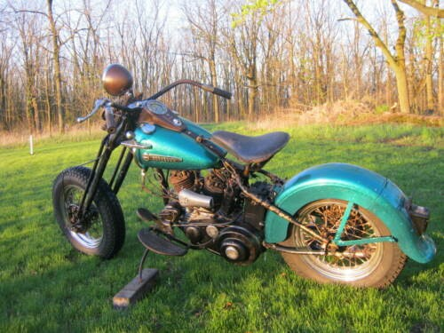 1950 Harley-Davidson 45 flathead Green for sale craigslist
