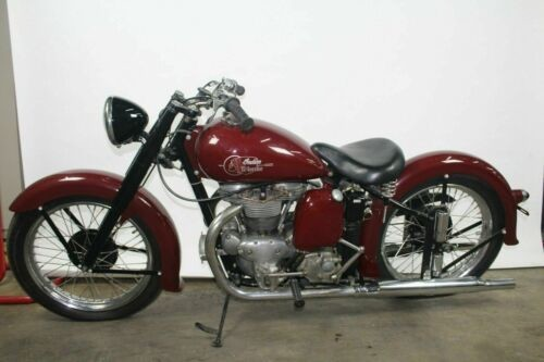 1951 Indian Warrior Burgundy for sale