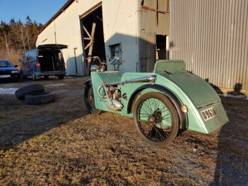 1951 Other Makes Meyra 48 Trike made in Germany Green and Black for sale