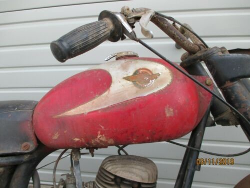 1961 Ducati Bronco Red for sale