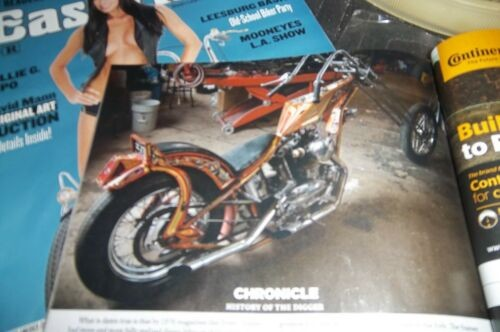 1964 Custom Built Motorcycles Chopper orange ade photo