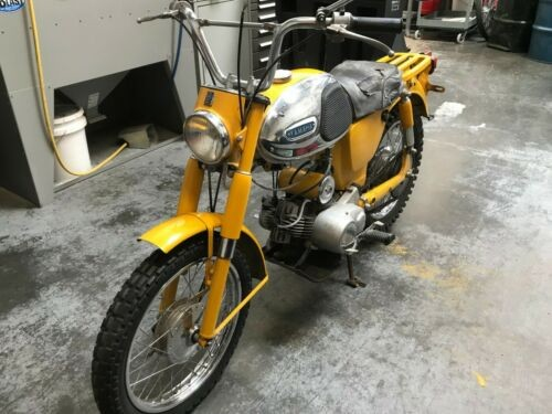 1964 Yamaha YG-1T Trail Master Yellow photo