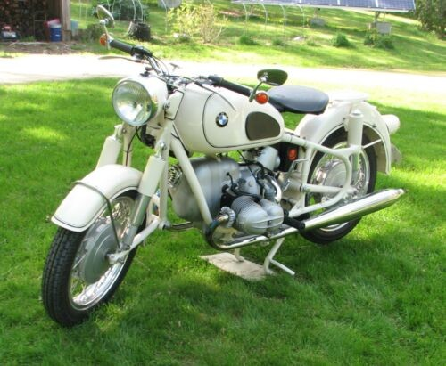 1965 BMW R-Series Dover White photo