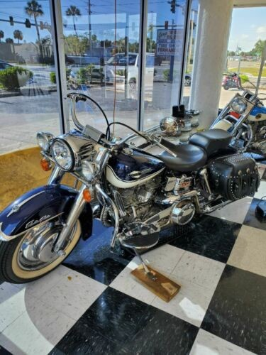 1965 Harley-Davidson Touring Blue photo