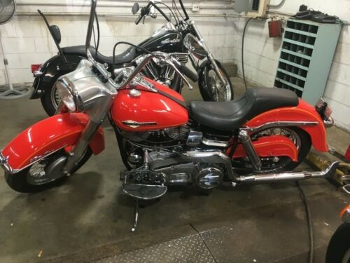 1965 Harley-Davidson electra glide Red photo