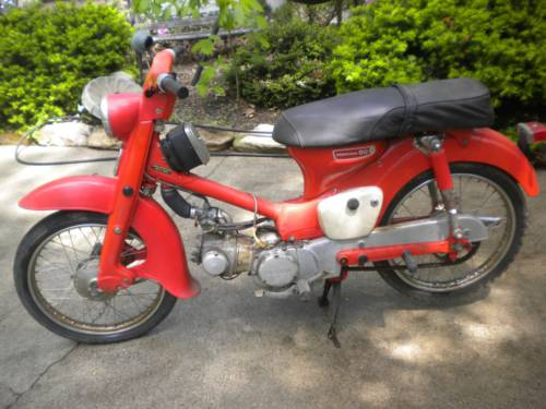 1965 Honda CT 90 Red photo