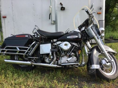 1966 Harley-Davidson Touring Black photo