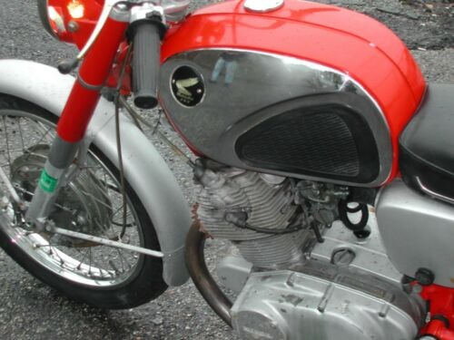 1966 Honda CL cb77 superhawk Red photo