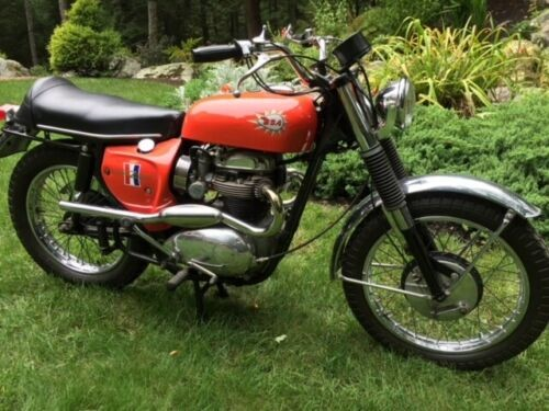 1967 BSA Hornet Burnt  Orange photo