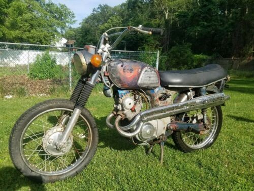 1967 Honda CL Blue photo