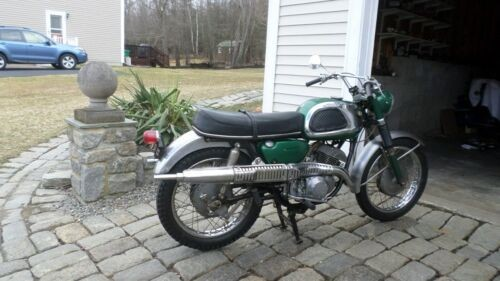 1967 Suzuki X6 HUSTLER SCRAMBLER TC250 GREEN for sale craigslist