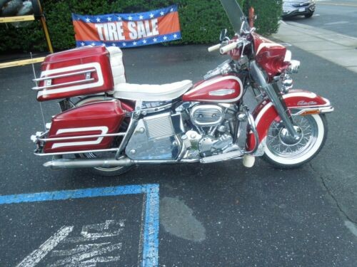 1968 Harley-Davidson Touring Red photo