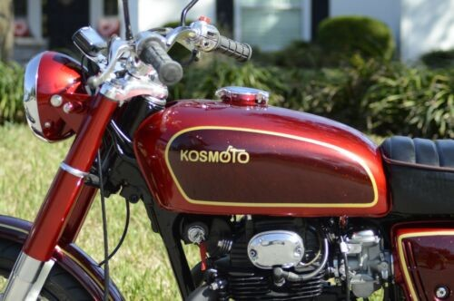 1970 Honda CB Candy Red and gold craigslist