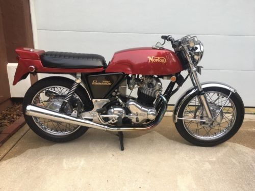 1970 Norton Commando 750 Roadster Dunstall Red craigslist