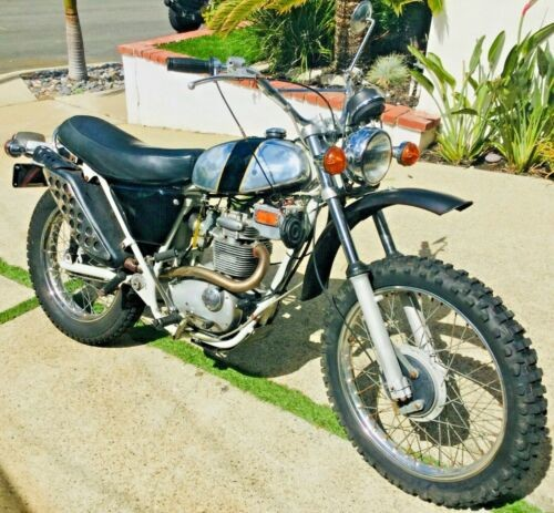 1971 BSA 250 Trail Black photo
