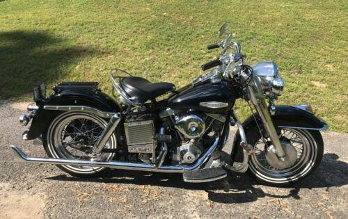 1971 Harley-Davidson FLH Black photo