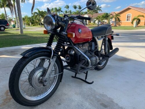 1972 BMW R60/5 Red for sale