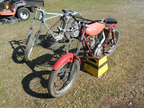 1972 Hodaka Trials Bike  photo