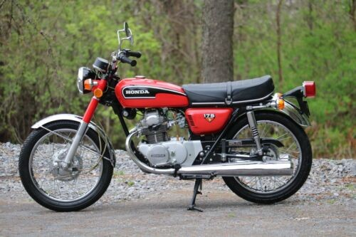 1972 Honda CB Red for sale