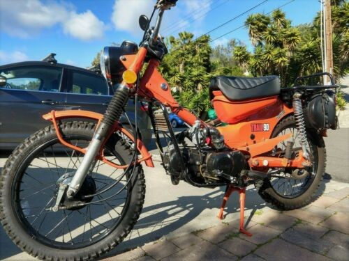 1972 Honda CT90 Orange craigslist