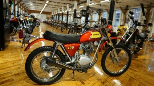1972 Honda SL100 L2 Red for sale