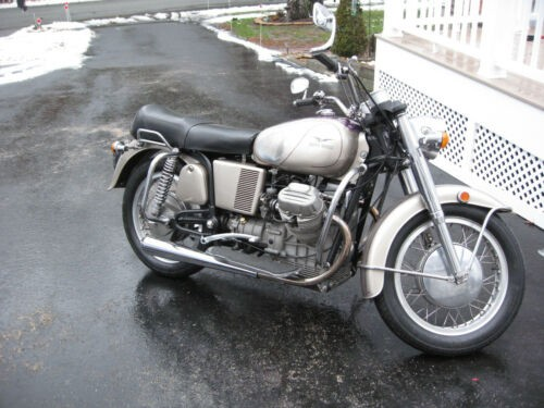 1972 Moto Guzzi Eldorado 1000 Silver for sale