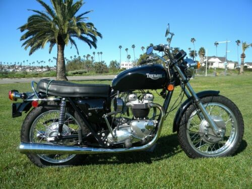 1972 Triumph Bonneville Black for sale craigslist