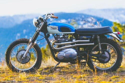1972 Triumph Tiger Blue for sale craigslist