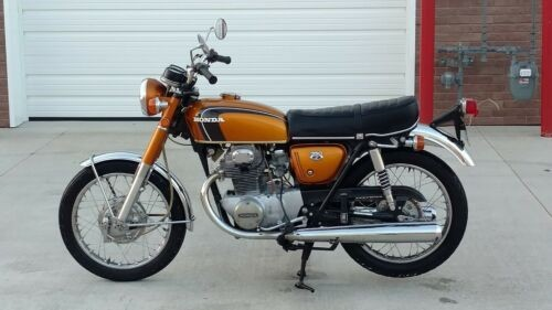 1973 Honda CB Gold photo