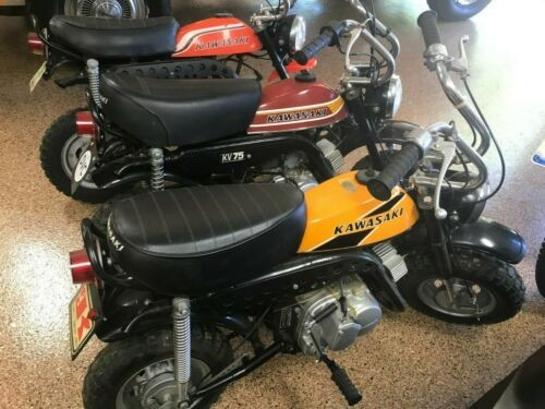 1973 Kawasaki KV75 Orange, Yellow, Red photo