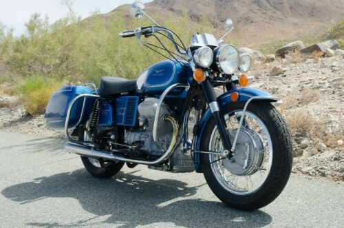 1973 Moto Guzzi Eldorado Blue photo