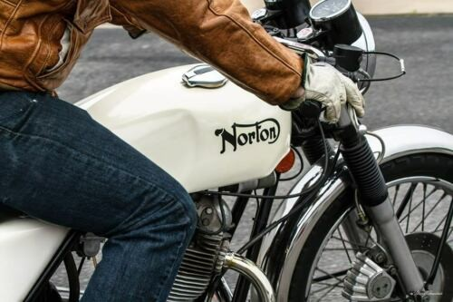 1973 Norton COMMANDO WHITE photo