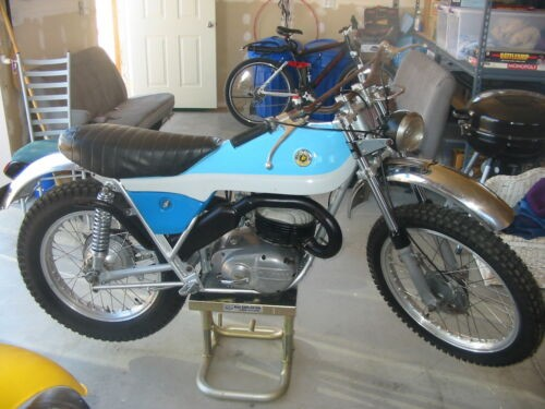 1974 Bultaco ALPINA 250 Blue photo