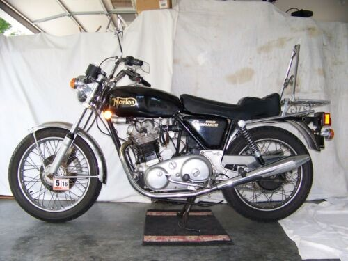 1974 Norton 850 Commando Black for sale craigslist