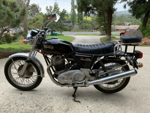 1974 Norton 850 Commando Black photo